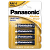 Panasonic AA Alkaline Power Batteries