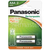 Panasonic AAA Rechargeable Dect Phone Batteries (Pack Of 2)