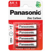 Panasonic AA Zinc Carbon Batteries
