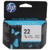 Hewlett Packard Genuine No.22 Colour Ink Cartridge (C9352AE)