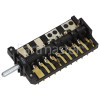 Merloni (Indesit Group) Oven Function Selector Switch : B+S (B&S) BS-Brand 30104/6