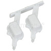 Admiral Option Button Assembly - White