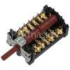 Oven Function Selector Switch Gottak 840407K
