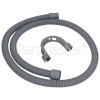 Crosslee Universal 1.5m Drain Hose Straight 22mm / 29mm Internal Dia.s'