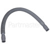 Confortec Universal Extendable Drain Hose (2FT TO OVER 6FT) Straight 19mm /22mm Internal Dia.s'