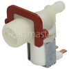 Whirlpool Cold Water Single Solenoid Inlet Valve : 180Deg, 12 Bore Outlet
