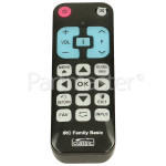 Compatible Basic Function TV Remote Control