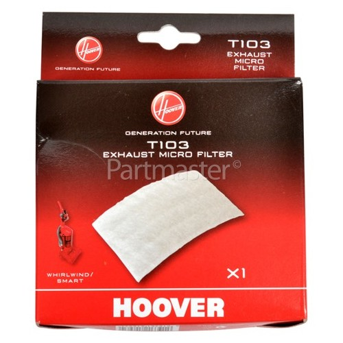 Hoover T103 Exhaust Micro Filter