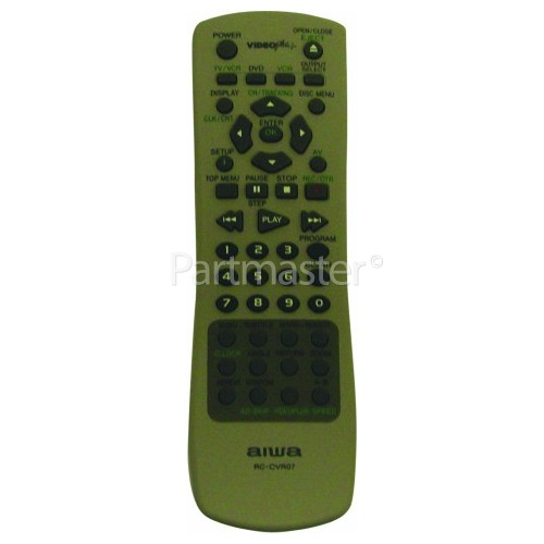 Aiwa RCCVR07 Remote Control