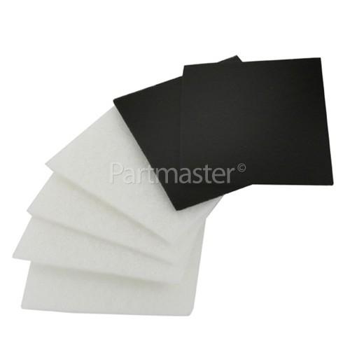 Electrolux Group EF10A Filter Kit (Pack Of 6)