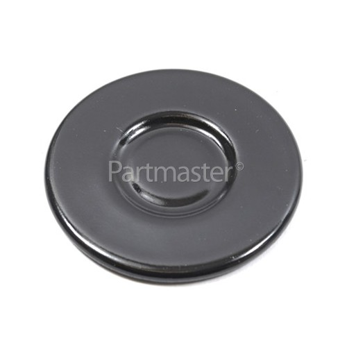 Amica Burner Cover SOMI-2 Small - Black Polish 53mm Outer Dia.