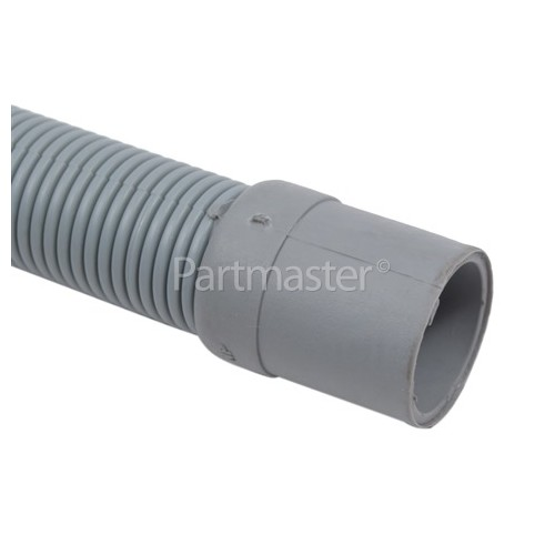 2.4mtr. Drain Hose 22mm End Right Angle End 30mm, Internal Dia.s'