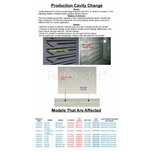 Oven Shelf 450x360mm