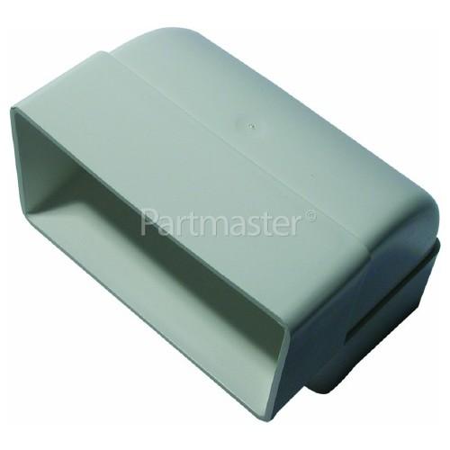 ITD Vertical Bend Vent Ducting: 90 Deg - 110mm X 54mm