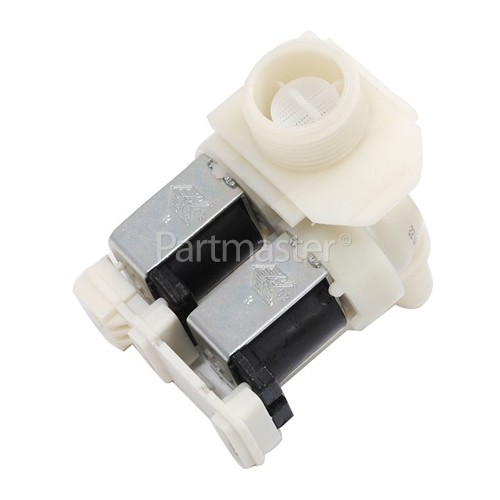 Cold Water Double Solenoid Inlet Valve : 180Deg. With 10.5 Bore Outlets
