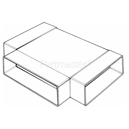 ITD Equal T Piece - 110mm X 54mm