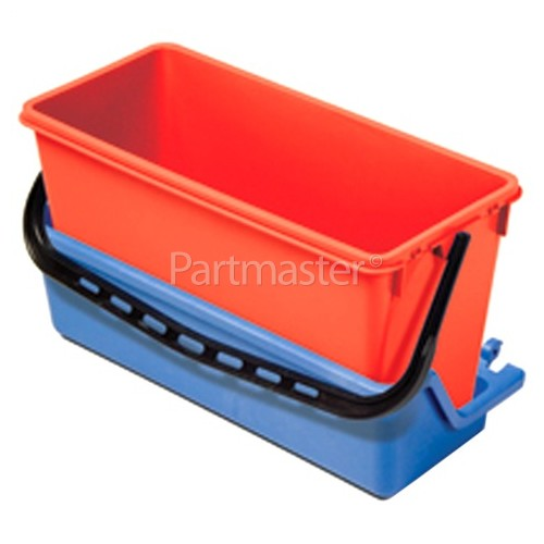 Numatic AK6 - Extra Front Tray Blue, With 15-litre Bucket, Red