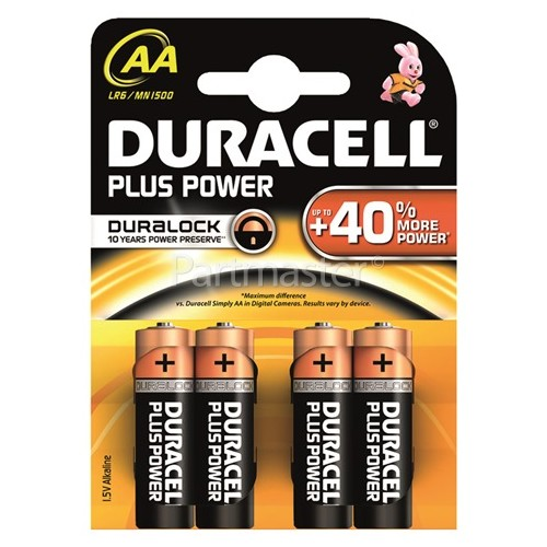 Duracell Plus AA Alkaline Batteries