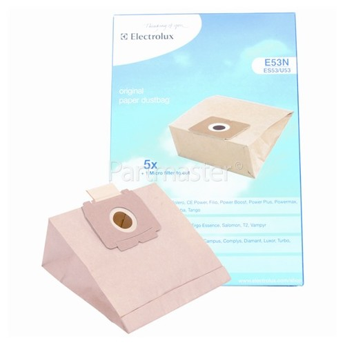 Electrolux E53N / ES53 / U53 Paper Bag (Pack Of 5)