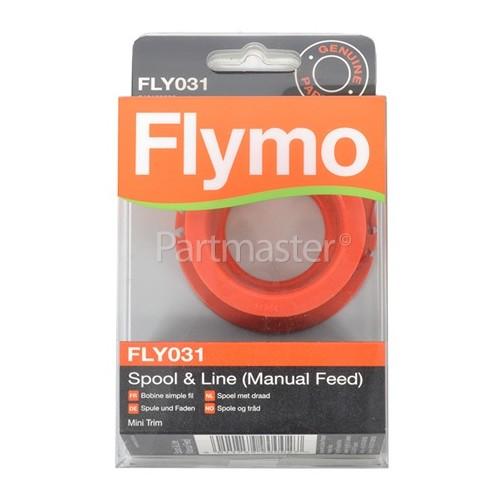 Flymo FLY031 Manual Feed Spool / Line : Single Spool / Line Flymo ET21, Mini Trim, Mini Trim St