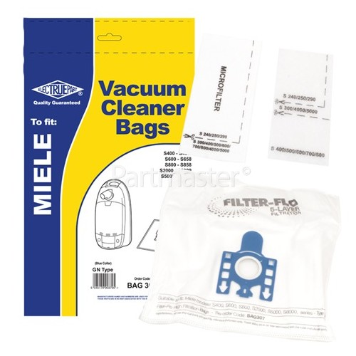 Cat G/N Filter-Flo Synthetic Dust Bags (Pack Of 5) - BAG307