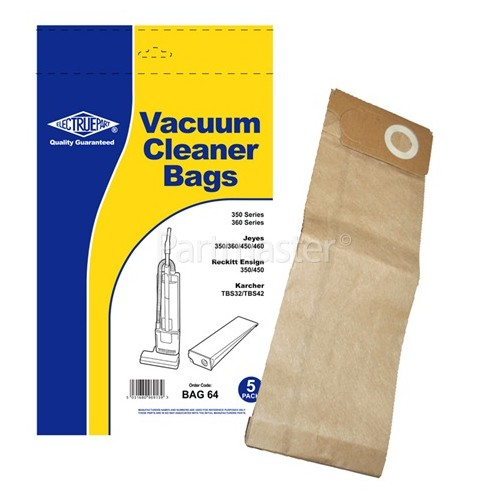 Europlus Compatible Dust Bag (Pack Of 5) - BAG64