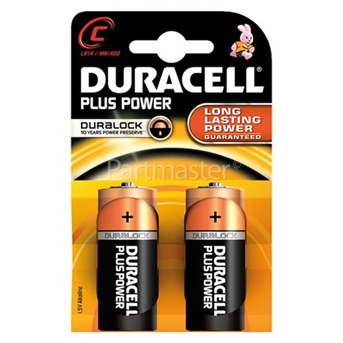 Duracell Plus C Alkaline Battery