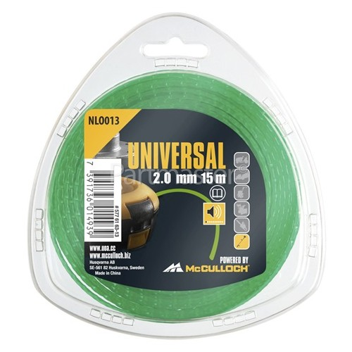 Universal Powered By McCulloch NLO013 Low Noise Nylon Line