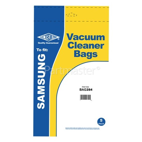 VC Filter-Flo Synthetic Dust Bags (Pack Of 5) - BAG284