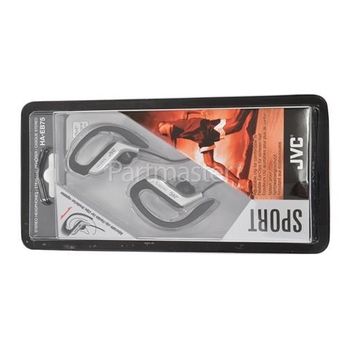 JVC HAEB75 Clip-On Earphones - Silver