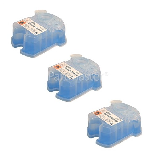 Braun Clean & Renew Refill Cartridges CCR3 Pack Of 3 - Lemon