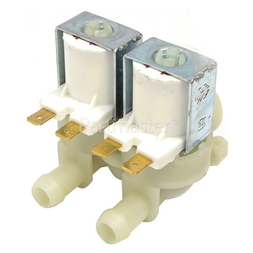 Cold Water Double Solenoid Inlet Valve : 180Deg. 12 Bore Outlets