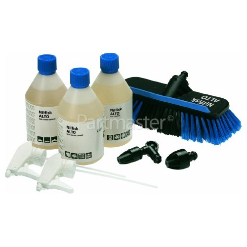 Nilfisk Click & Clean Auto Kit For Car Cleaning