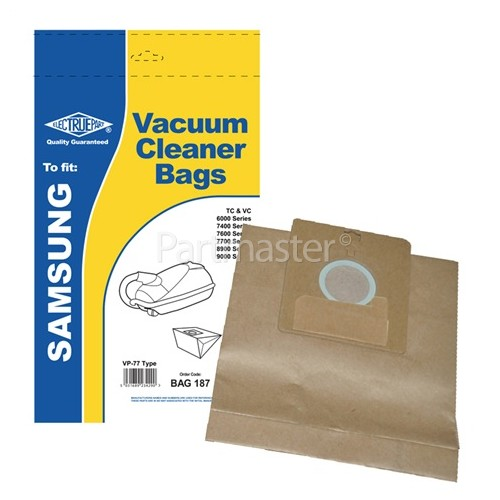 Bestron VP77 Dust Bags (Pack Of 5) - BAG187