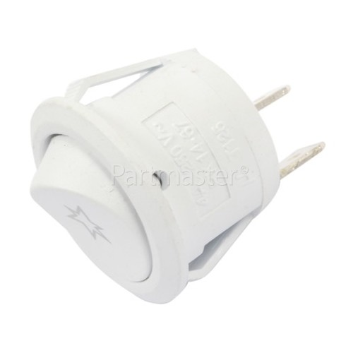 Ignition Button Round - White : 2tag