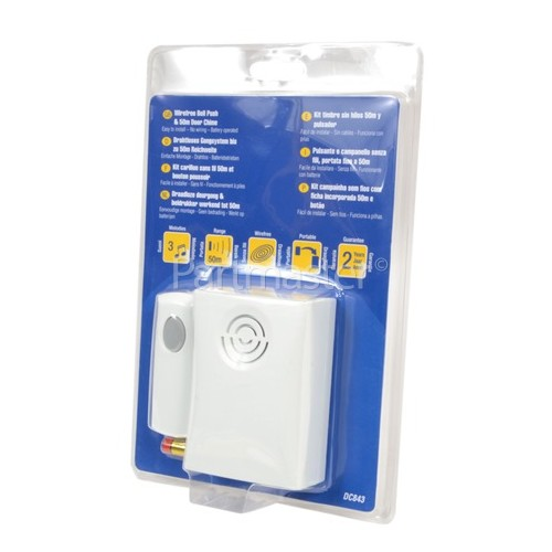 Friedland Doorman 50M Portable Wirefree Chime Kit