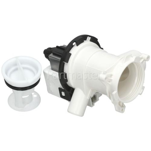 Beko Drain Pump Assembly : Hanyu B30-6AZ Compatible With SPW165250E31P-01