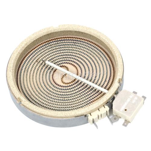 General Electric JP136SIVSB Ceramic Hotplate Element Single 1200W