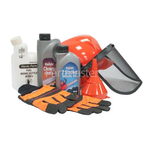 Handy 6 Piece Chainsaw Safety Starter Kit