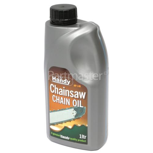 Handy 1 Litre Anti-Fling Chainsaw Chain Oil