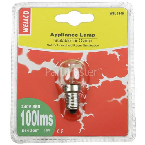 Belion 15W SES (E14) 300º Pygmy Oven Lamp