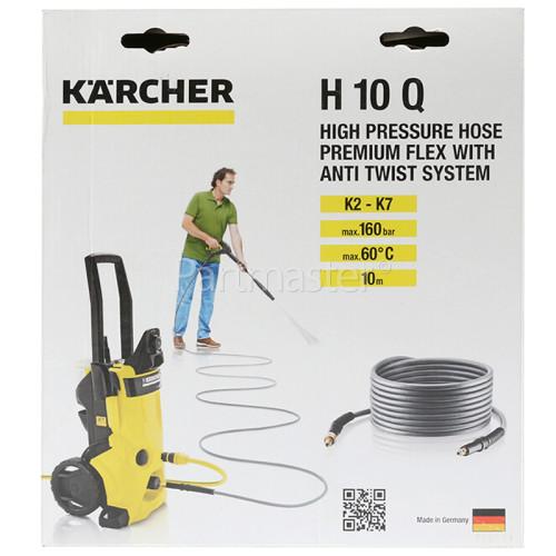 Karcher H10Q Flexible High Pressure Premium Anti Twist Hose - 10m