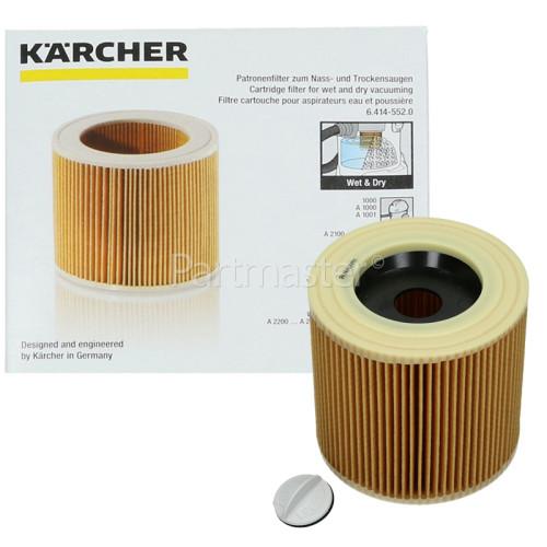 Kärcher Vacuum Cleaner Wet & Dry Cartridge Filter