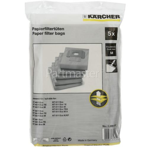 Karcher Filter Dust Bag (Pack Of 5)