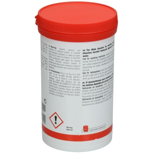 Miele Washing Machine / Dishwasher Descaling Agent - Single Dose Treatment