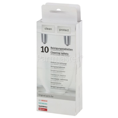 Bosch Fully Automatic Coffee Machine Cleaning Tablets (Pack Of 2)