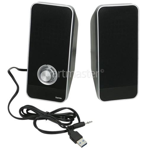 Hama Sonic LS-206 PC Stereo Speakers