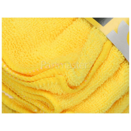 Rolson Microfibre Cloth ( Yellow Duster) Pack Of 10