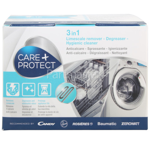 Care+Protect Washing Machine / Dishwasher Limescale Remover & Cleaner