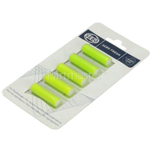 Sebo Lime Scented Air Freshener Sticks (Pack Of 5)